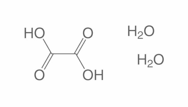 molécule d'acide oxalique